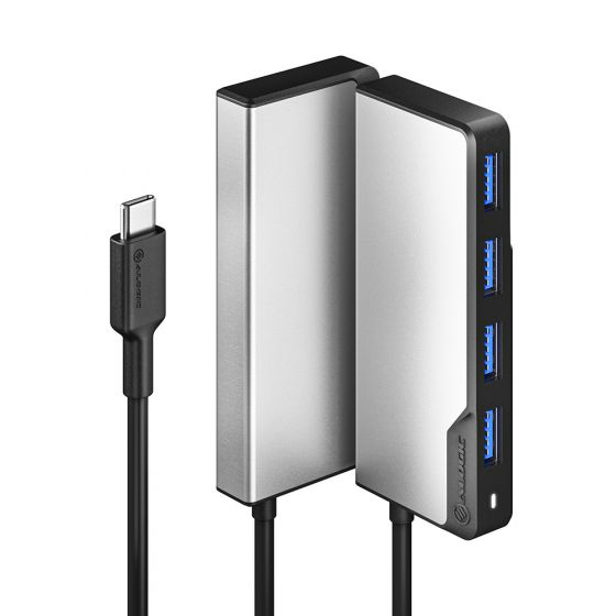 ALOGIC USB-C Fusion SWIFT 4-in-1 Hub - Space Grey